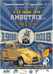 20 ans club BBDDeuch' de l'Ain