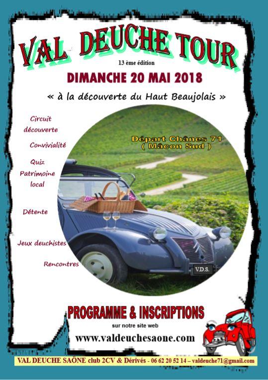 Affiche Val Deuche Tour 2018
