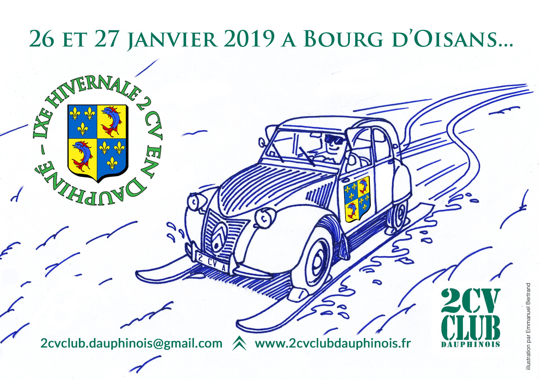 Hivernale 2019 du 2 CV Club Dauphinois