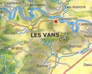 Le sud de l'Ardèche avec Alain Hervé
