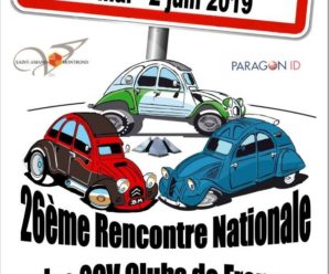 26e Rencontre Nationale des 2CV Clubs de France
