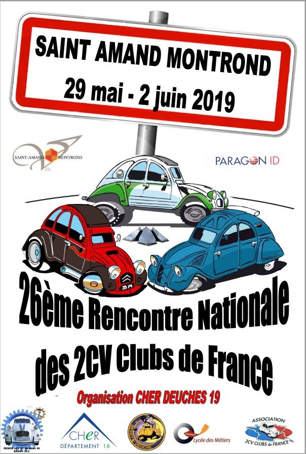 affiche de la Nationale 2019 dans le Cher