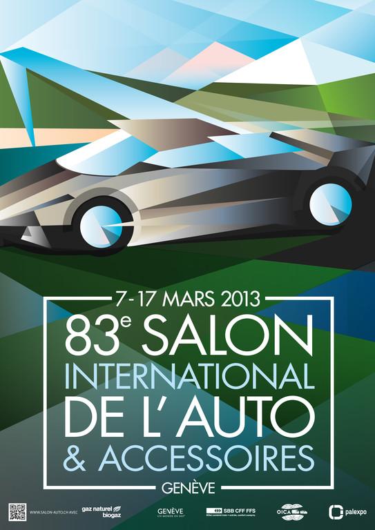 Jeudi 14 mars 2013 : VIIIe Salon international de l'Auto et Accessoires de Genève (Suisse)