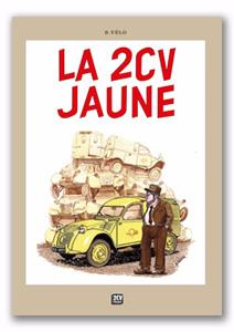 BD La 2CV jaune