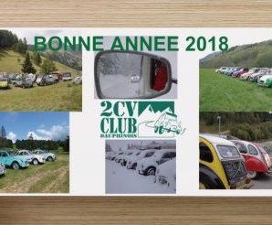 BONNE ANNEE 2018 !