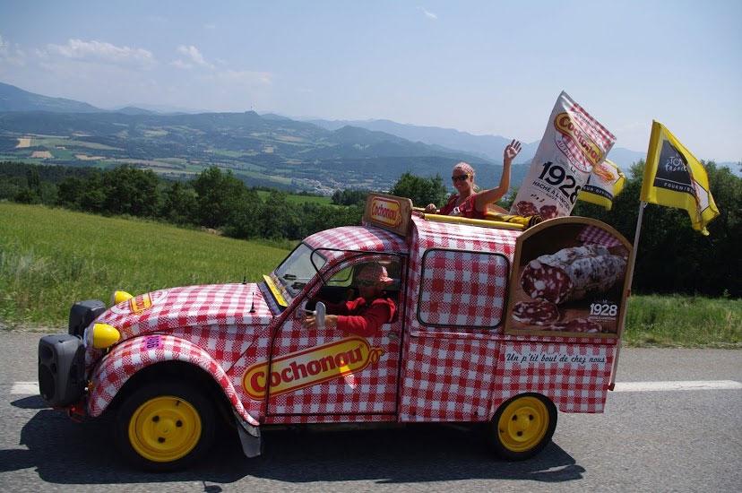 caravane du Tour de France Cochonou