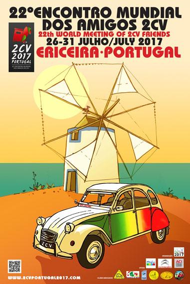Mondiale 2CV 2017 au Portugal