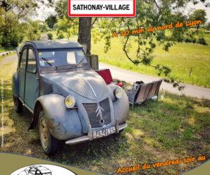 25e Fête de la 2 CV à Sathonay-Village