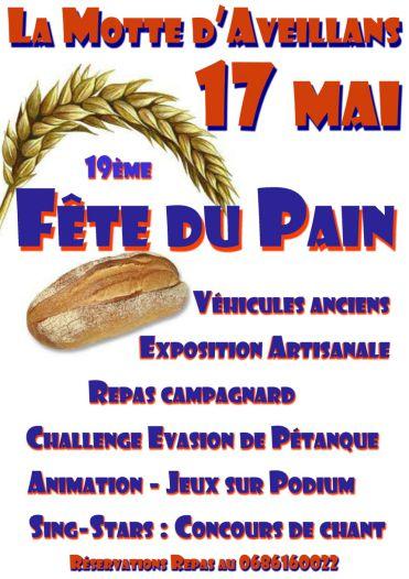 Fête du Pain de La Motte d'Aveillans