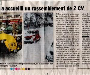 L'Hivernale 2015 dans le Dauphiné Libéré