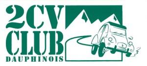 logo du 2 CV Club Dauphinois